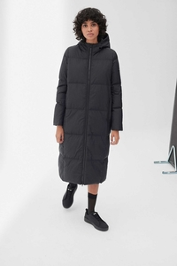 Mantel - Madison Coat - Black - ECOALF
