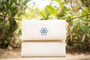 Divine Flower Travel Mat, stitched Flower - Divine Flower by Ursula Karven