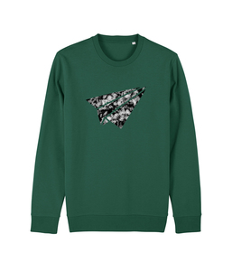 "be free - Unisex Sweatshirt ""Flieger""  - be free shoes"