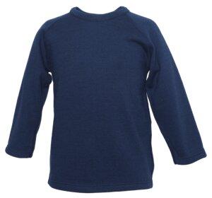 Kinder Langarm Shirt Wolle-Seide - Reiff