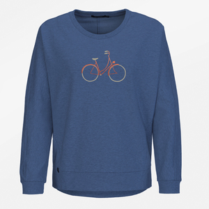 Sweatshirt Slack Bike Charming - GreenBomb
