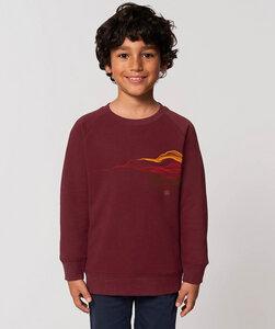 Sweatshirt mit Motiv / Earth&Fire Waves - Kultgut