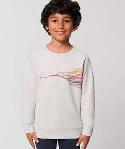 Sweatshirt mit Motiv / Earth&Fire Waves - Kultgut