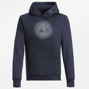 Hooded Sweater Star Bike Fog - GreenBomb