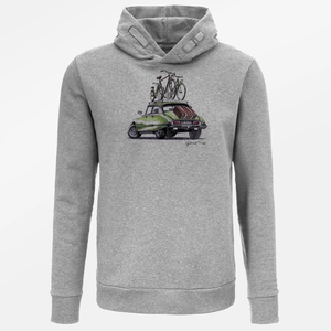 Hooded Sweater Star Bike Good Trip - GreenBomb