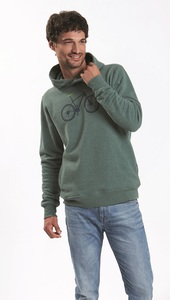 Hooded Sweater Star Bike Mountain Bike - GreenBomb