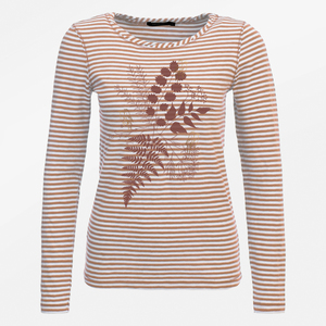 Longsleeve Charme Plants Birds in Love - GreenBomb