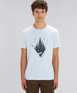 T-Shirt mit Motiv / born to be free - Kultgut