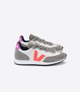 Sneaker Damen - Riobranco Hexamesh - Gravel Orange Fluo Ultraviolet - Veja