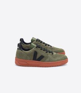 Sneaker Herren - V-10 Suede - Olive Black Rust Sole - Veja