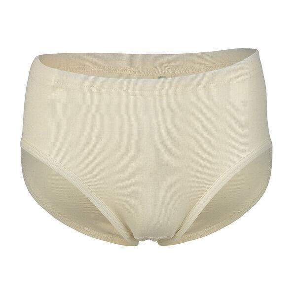 Damen Slip Panties Feinripp Komfort 100/% Bio-Baumwolle GOTS zertifiziert