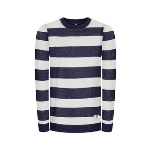 Captains Sweater Navy - bleed