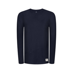 Super Active Lyocell (TENCEL) Sweater Navy - bleed