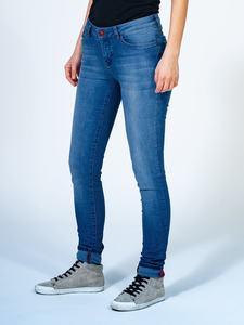 """Skinny Jeans """"Rosa"""" mittelblau - TORLAND"""