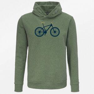 Hooded Sweater Star Bike Mountain Bike - GreenBomb