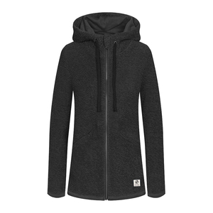 Toody Zip- Hoody Ladies Black - bleed clothing GmbH