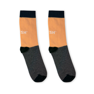 Single Socks (salmon + grey) - Vresh
