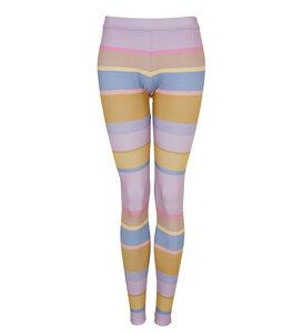 Legging Pastell Stripes - Lena Schokolade