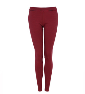 Legging Striped Rot - Lena Schokolade