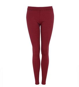 Legging Striped Rot - Lena Schokolade