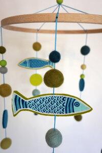Mobile Fische - HipHip-Hurra