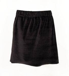 Nicki Rock schwarz aus Bio-Baumwolle - Lena Schokolade