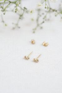 Ohrringe - delicate dot studs - Wild Fawn Jewellery