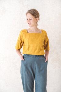 Shirt Rithu Sonnengelb - Jyoti - Fair Works