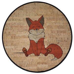 """Korkteppich Spielteppich Cork Rug Teppich aus Kork  """"Robin Fox"""" - Corkando-KIDS"""