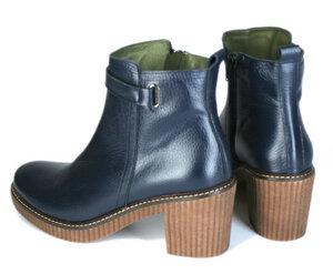 Absatz-Boots, blau - Jonnys