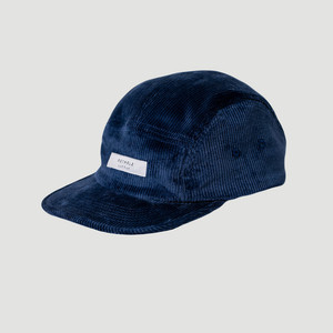'Label' Cord 5-Panel Bio Cap - Rotholz