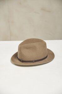 Edler Hut - gefilzt aus Schaf und Alpakawolle aus Peru - KUNA