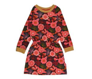 BabaBabywear Mädchen Sweatkleid big flowers - Baba Babywear