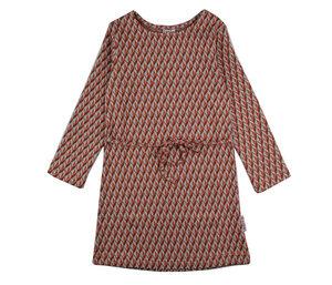 BabaBabywear Jersey Langarmkleid Cubes - Baba Babywear