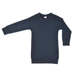 BaBaBabywear Langarmkleid denim blue - Baba Babywear