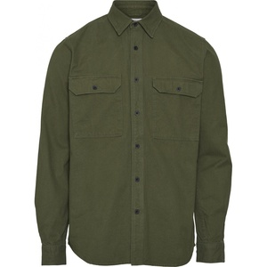 Hemd - Long sleeve moleskin shirt - GOTS/Vegan - KnowledgeCotton Apparel