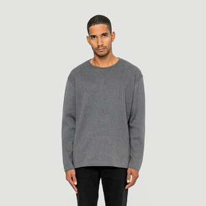 Basic Milano Strick Sweater - Rotholz
