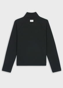 Womens Journey High Neck Sweater BLACK - merijula