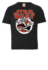 LOGOSHIRT - Star Wars - Starfighter - X-Wings - Kinder - Bio T-Shirt  - LOGOSH!RT