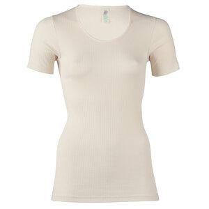 Damen Kurzarm-Unterhemd Bio-Baumwolle - Engel natur