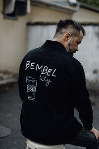 """Jacke """"BEMBEL CITY"""" mit Hessischem handgezeichnetem Statement - ALMA -Faire Streetwear & Schmuck-"""