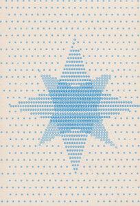 Weihnachtskarte Stern - Salon Elfi