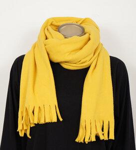 Schal versch. Farben aus Bio-Baumwolle - Lena Schokolade