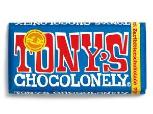 Zartbitter-Schokolade - 70% kakao - 180 Gramm - Tony´s Chocolonely