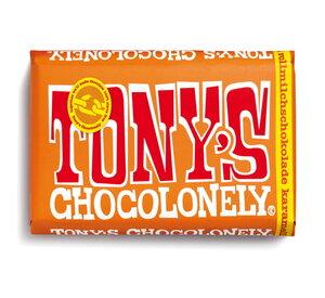 Vollmilchschokolade mit Karamell und Meersalz - 180 Gramm  - Tony´s Chocolonely
