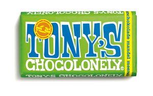 Zartbitterschokolade mit Mandel und Meersalz - 180 Gramm  - Tony´s Chocolonely