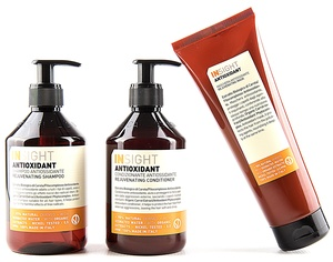 ANTIOXIDANT  400ml SHAMPOO + 400ml CONDITIONER+ 250ml MASKE - Insight