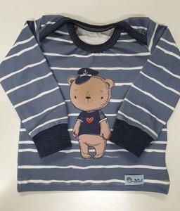 Baby-Shirt Käpt'n Seebär - Omilich