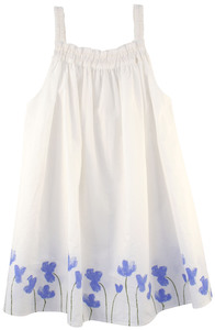 Feines Kleid mit Blumendruck in Größe 98 - Serendipity