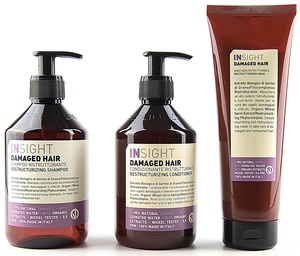 DAMAGED HAIR / STRAPAZIERTES HAIR SHAMPOO +  CONDITIONER+ MASKE - Insight